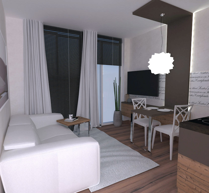Apart-hotel of 6 rooms in the center of Budva