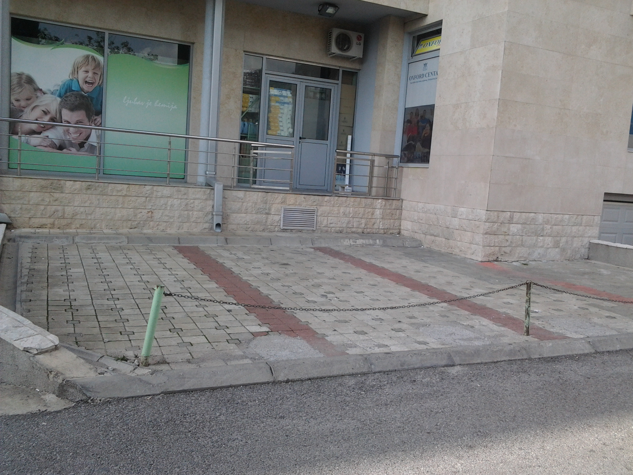 Street retail premises in the center of Budva