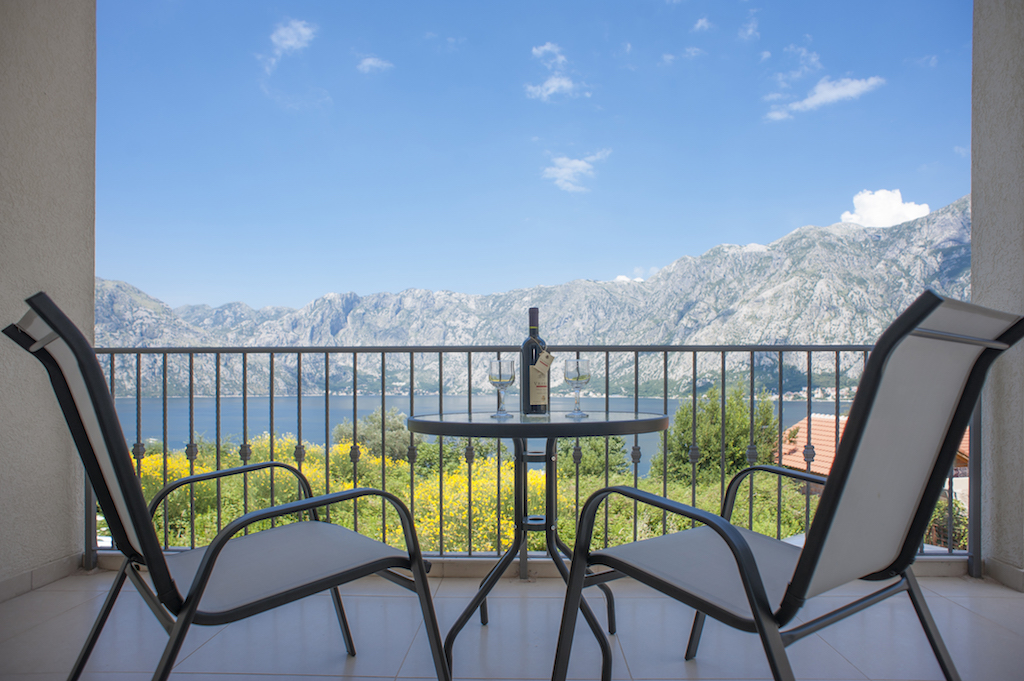 1 bedroom apartment in development in Kotor Bay