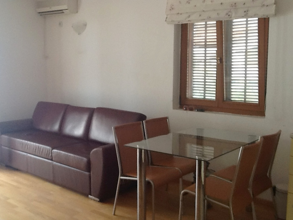 Apartment in buiding with outdoor pool in Kotor Bay
