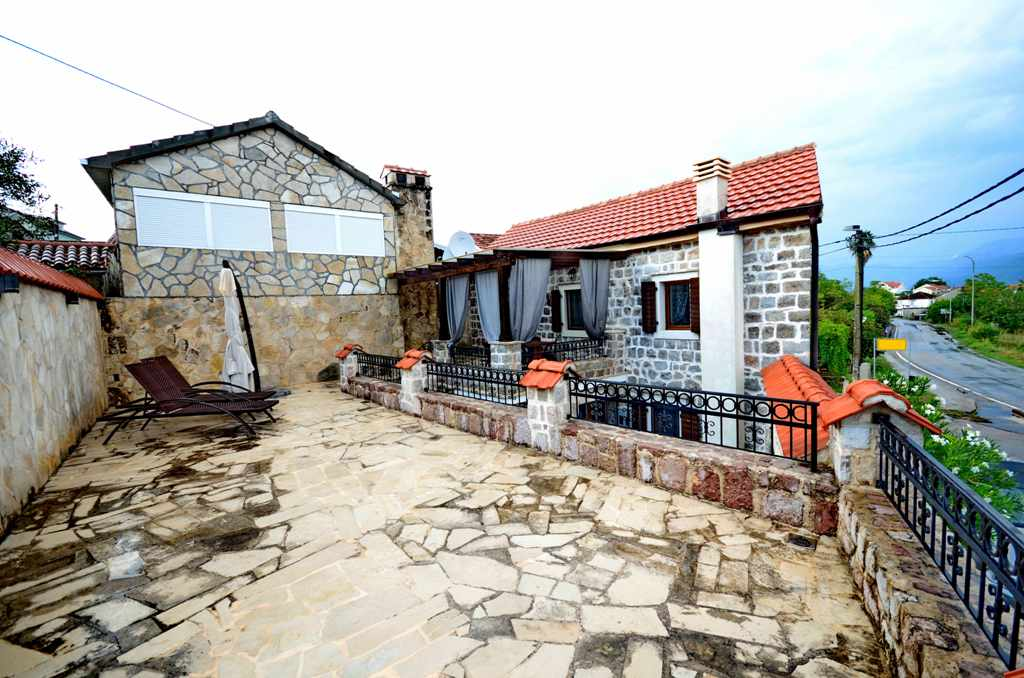 Refurbished stone house located on Lustica peninsula