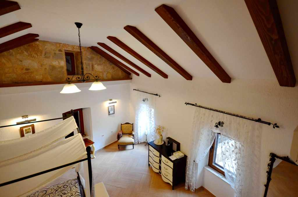 Refurbished stone house located on Lustica peninsula