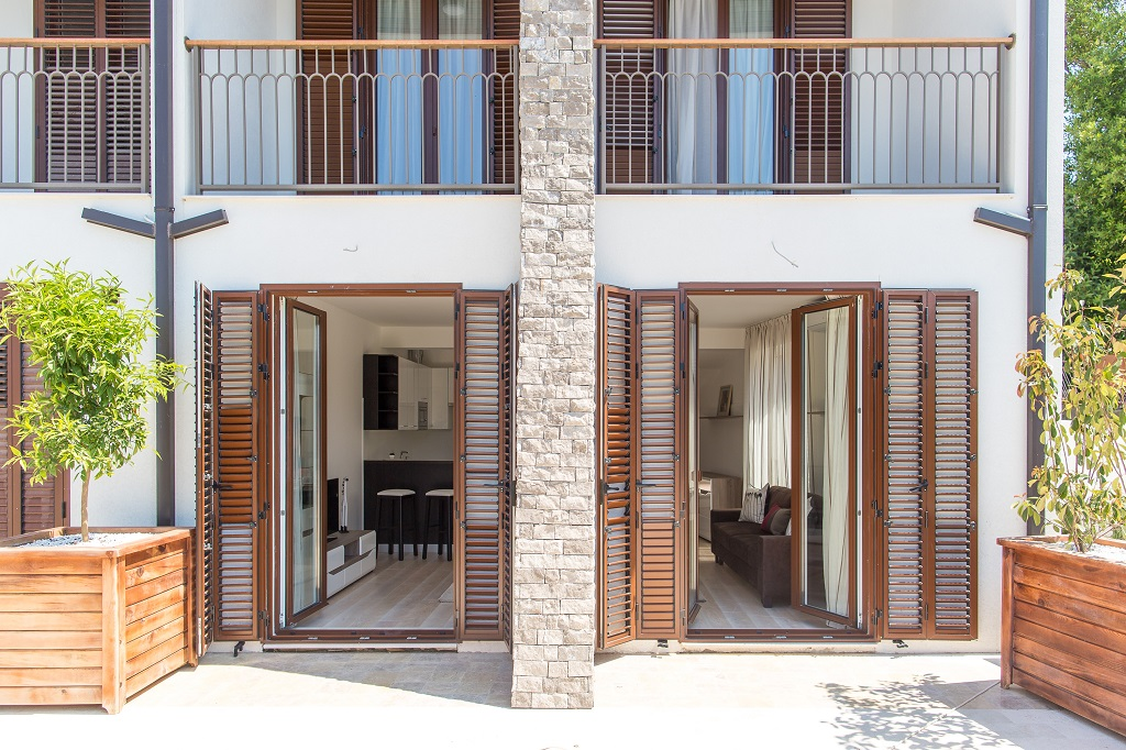 Townhouse in new residential complex in Tivat
