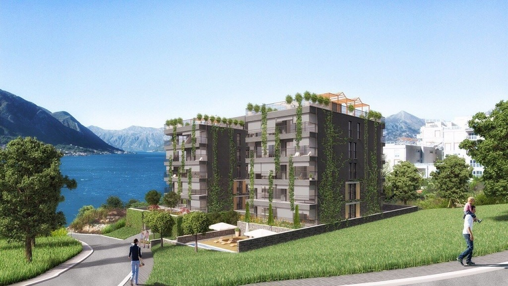 1 bedroom apartment in development with sea view
