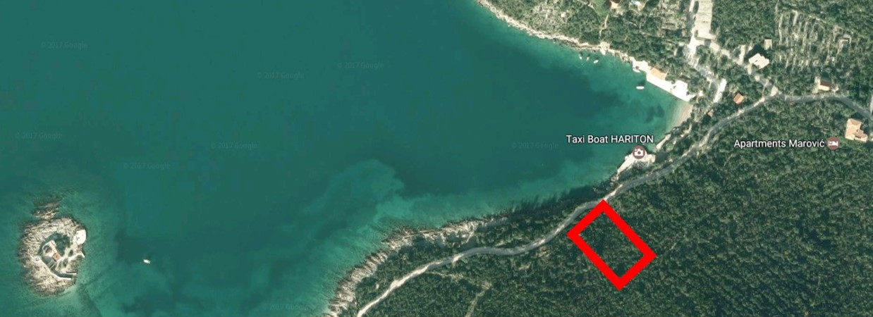 Frontline landplot on Lustica Peninsular