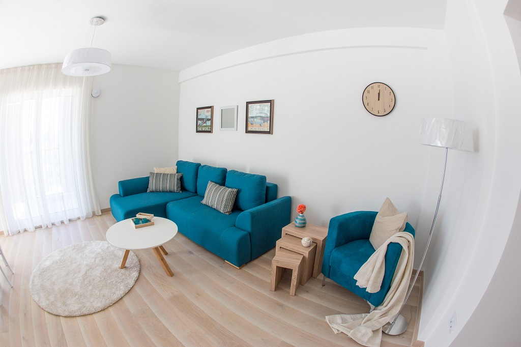 1 bedroom apartment in new complex in Tivat