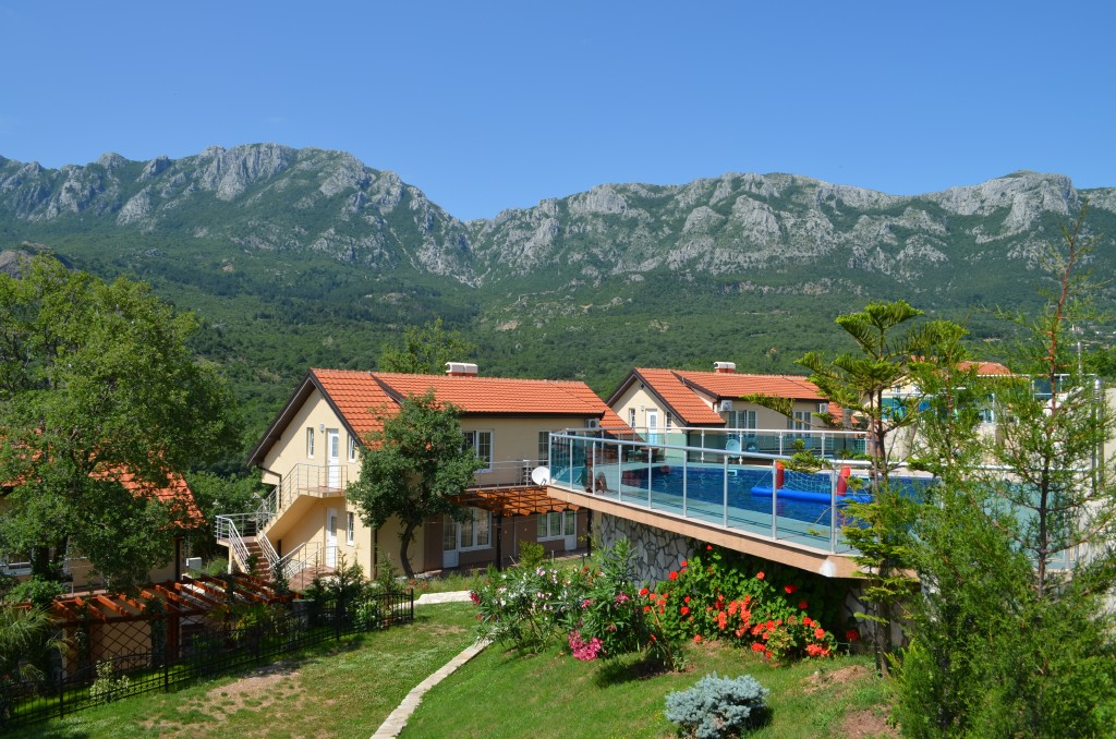 Comfortable townhouse with a beautiful mountain view
