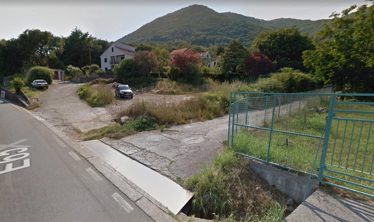 Urbanized land plot in Bijela, Herceg Novi
