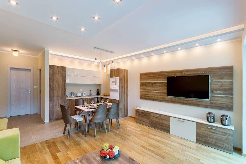 Stylish two-bedroom apartment in Bečići