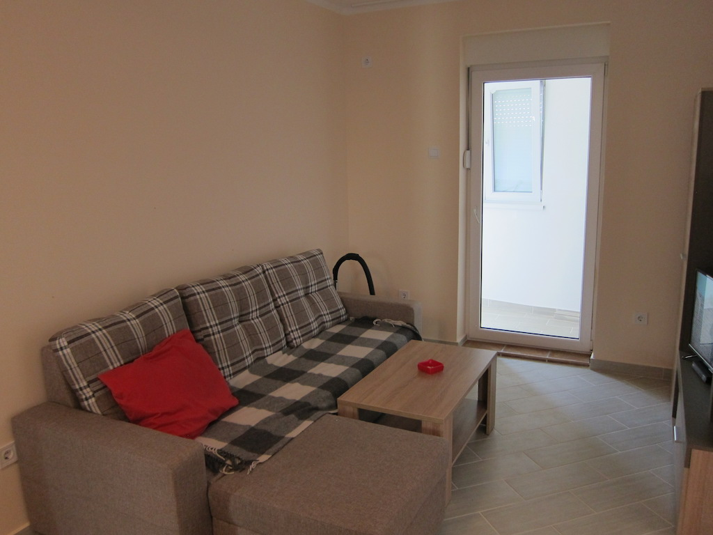 Spacious apartment in the new building in Budva