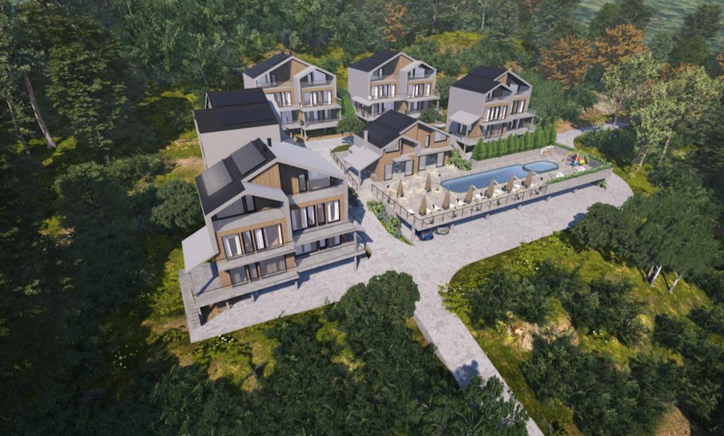 Land in Sasovići (Herceg Novi) with condo complex design project