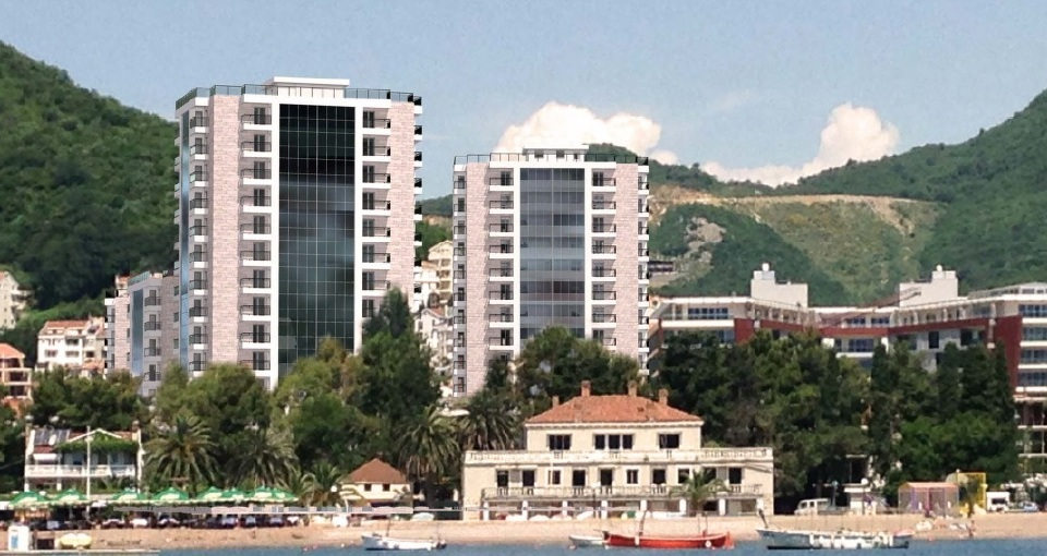 Luxury residential development in the centre of Budva