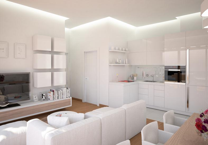 New penthouse in the best area of ​​Becici