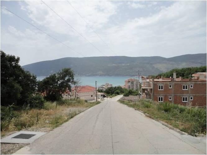 Urbanized land plot in Topla, Herceg Novi