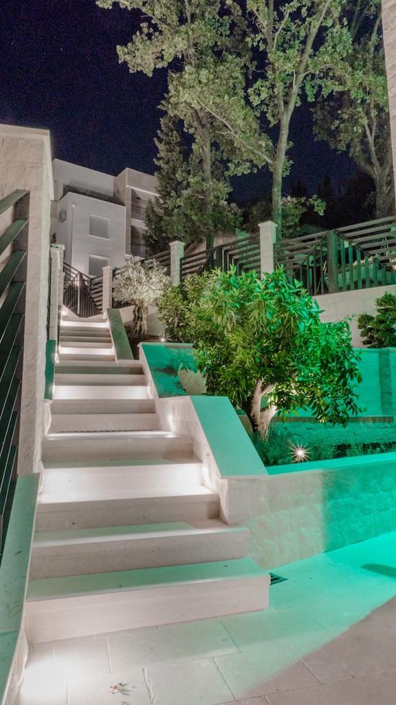 New modern villa on the sea coast