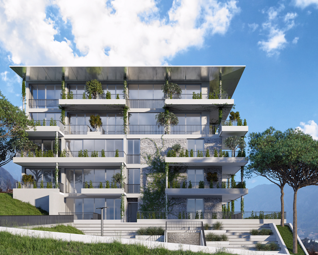 Two-bedroom apartment in the new development with panoramic view of the Bay