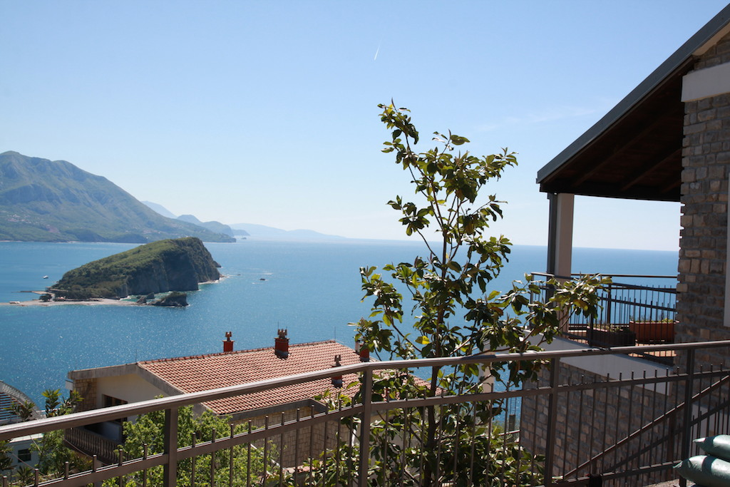 Splendid villa with private pool above Budva
